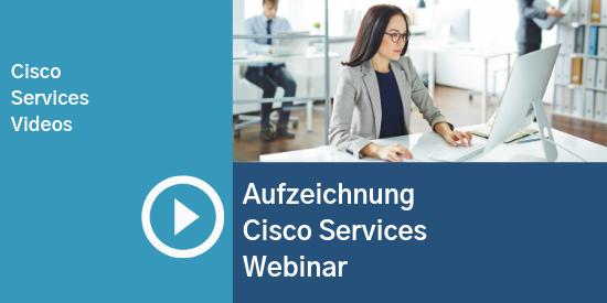 Comstor_Aufzeichnung Cisco Services Webinar