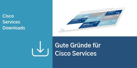 Comstor_Services_Gute Gründe für Cisco Services
