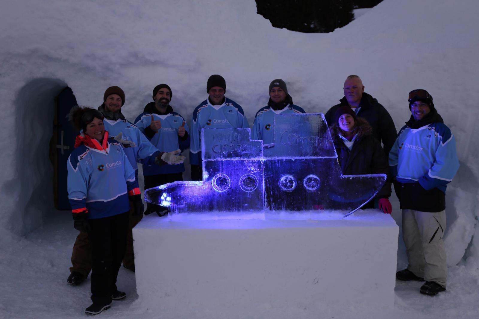 Icebreaker Event Schiff Endergebnis