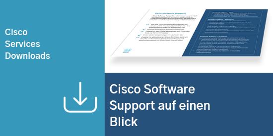 Comstor_Comstor_Cisco Software Support auf einen Blick