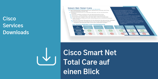 Comstor_Services_Cisco Smart Net Total Care auf einen Blick