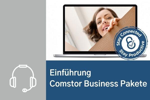 Webinar Comstor Business Pakete - Einführung